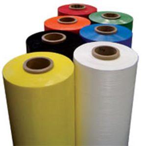 coloured stretch film wrap