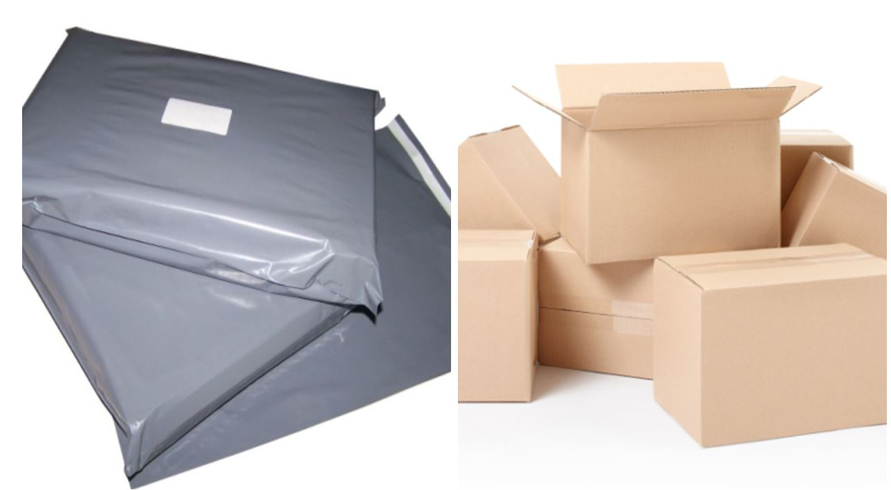 Which Packaging is more Environmentally Friendly, Polythene or Cardboard?